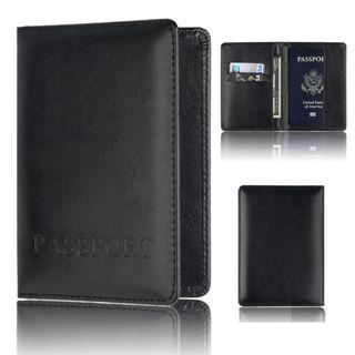 Multi-function Unisex passport Holder Protector Wallet Business Card Soft Passport Cover