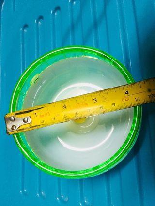 全新 倉鼠 膠跑輪 轉輪 11cm 小型 籠用 靜音