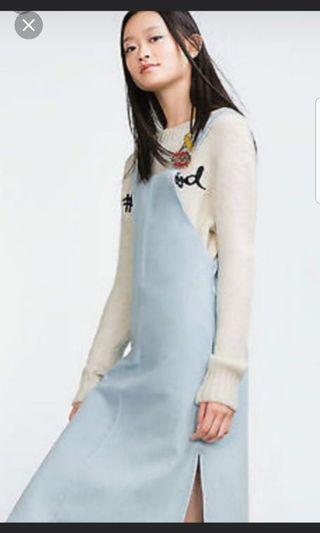 Zara Trf denim dress #est50