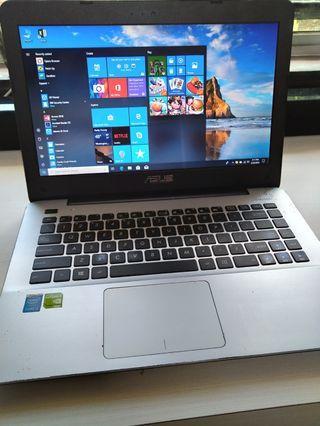 Laptop Asus X455L Nvidia