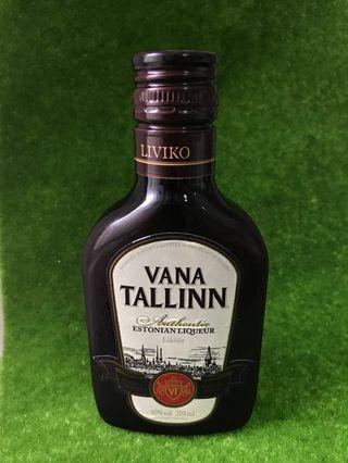 Vana Tallinn Authentic Liqueur, ESTONIA 40%vol (200ml)