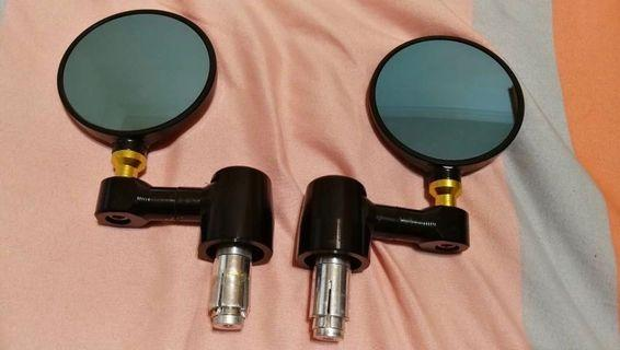 🚚 機車專用手把鏡 後照鏡 端子鏡