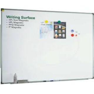 SINGLE White Board 200cm x 100cm Available - Left 1 Piece