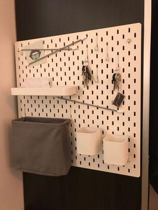 Pegboard Organiser Storage & Display