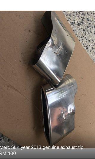 Merc SLK 2013 genuine exhaust tip