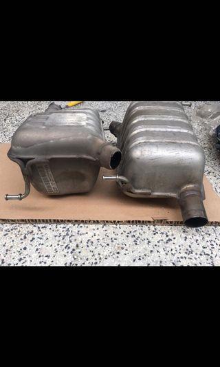 Merc SLK 2013 exhaust tank