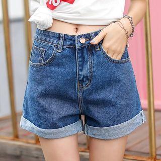 🚚 《全新》顯瘦牛仔短褲