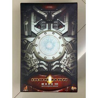 Iron Man Mark III (Battle Damaged Version) Collector's Edition MMS 110 by Hot Toys