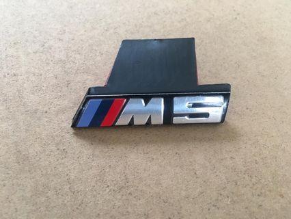 BMW M5 genuine emblem