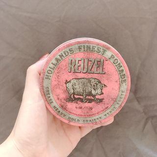 🚚 REUZEL 粉紅豬油性髮油 90%