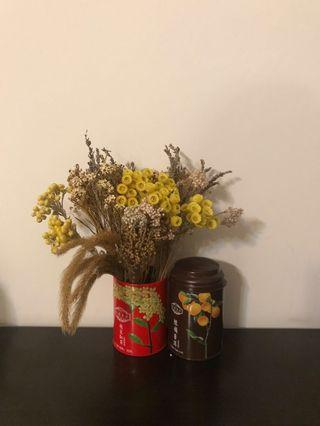 Vintage Tea Cans (great for decor