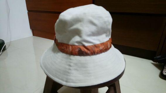 野鳥協會遮陽帽/100%純棉/台灣製
