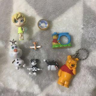 🚚 正版迪士尼二手玩具(共8樣)