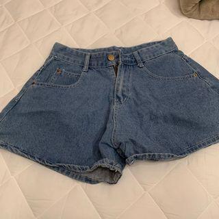 🚚 闊腿顯瘦牛仔褲