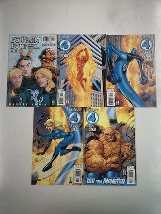 Fantastic Four Anniversary (1998 3rd Series) Comics Set