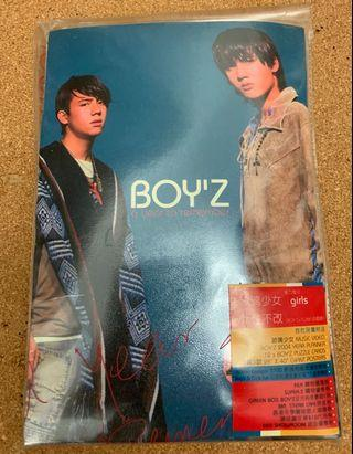 Boy'z A Year To Remember CD (關智斌 張致恆)