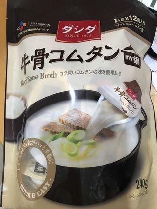 🚚 濃縮牛骨湯