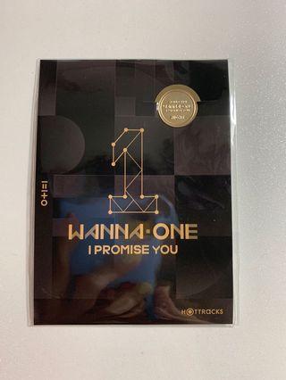 Wanna one I promise you 專輯特典 書簽