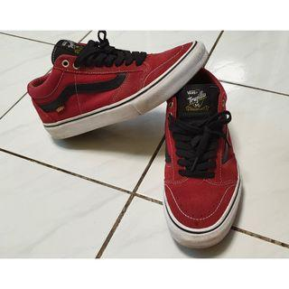original vans trujillo sg tibetan Red