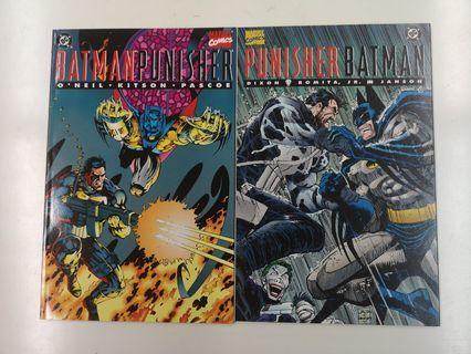 Batman Punisher (1994) & Punisher Batman Deadly Knights (1994)