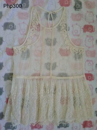 Hollister Lace Top/Dress