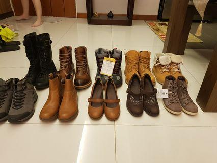 TIMBERLAND BOOTS/HEELS