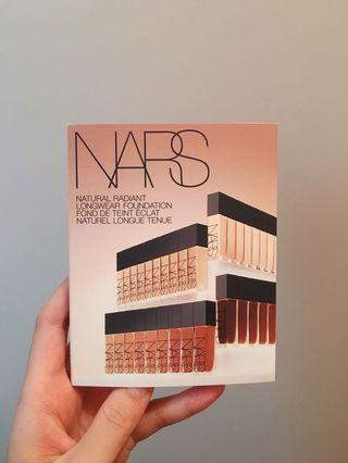 Nars Natural Radiant Long-wear Foundation Sample