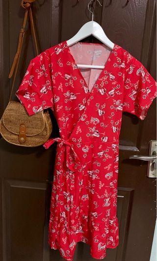 BRAND NEW TANGY WRAP KIMONO DRESS