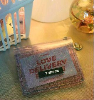 THENCE JELLY TRANSPARENT WALLET UNOFFICIAL