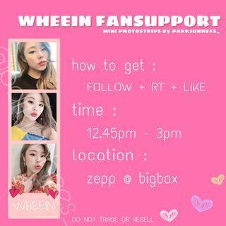 🚚 wheein mini photostrips