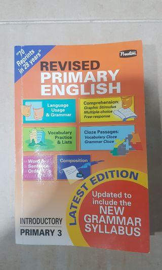 Primary 3 English Grammar book