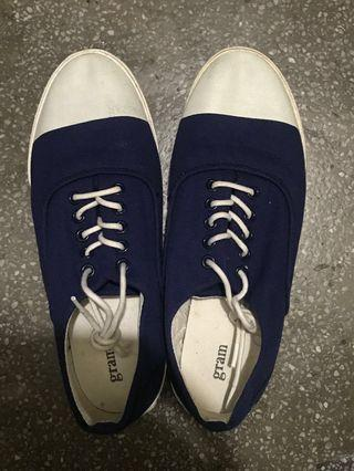 GRAM帆布鞋