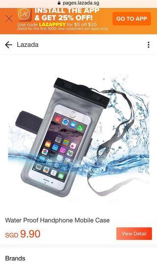 🚚 Waterproof Hp cell phone cover