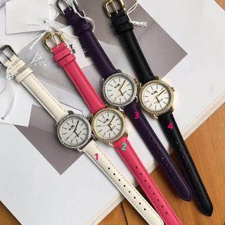 Coach Leather Watch Woman