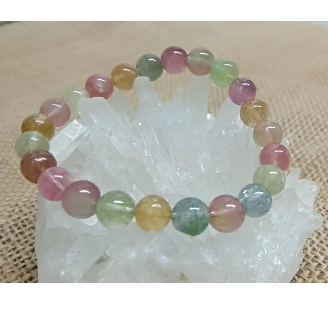 天然水晶 糖果碧壐手串 7mm