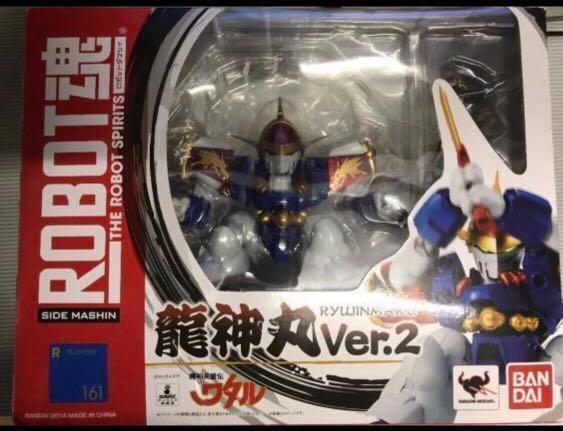 絕版 日版模型 [日本直送]Bandai 魔神英雄傳 robot魂 龍神丸 飛雲 龍神號 ver 2