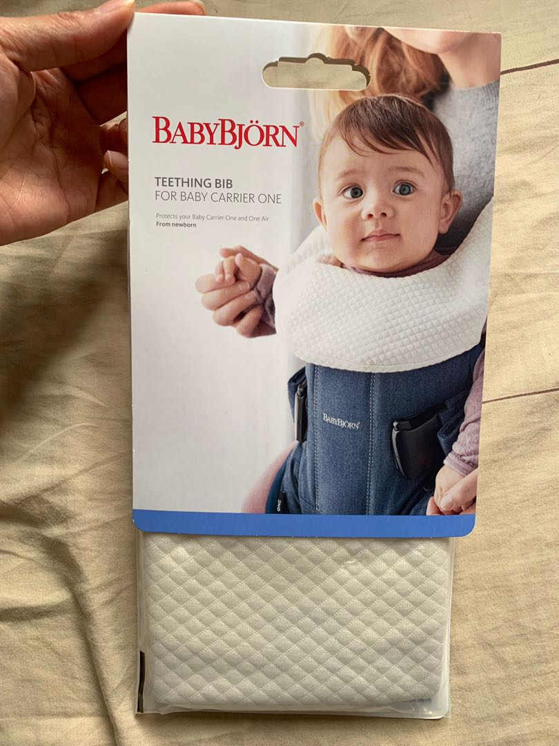 49e63f17d38 全新Babybjorn Teething Bib  Baby Carrier One