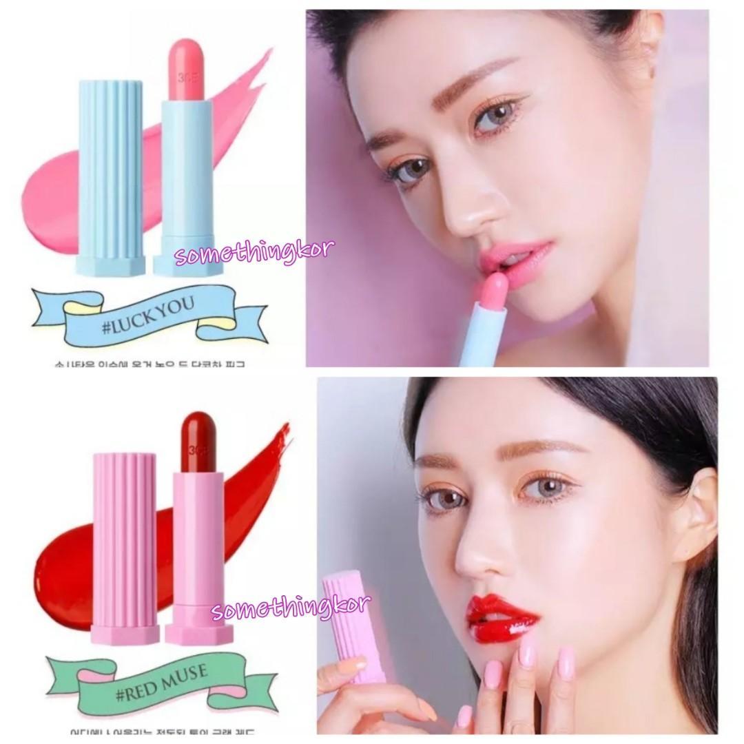 韓國 Korea 3CE Glossy Lip Stick 唇膏