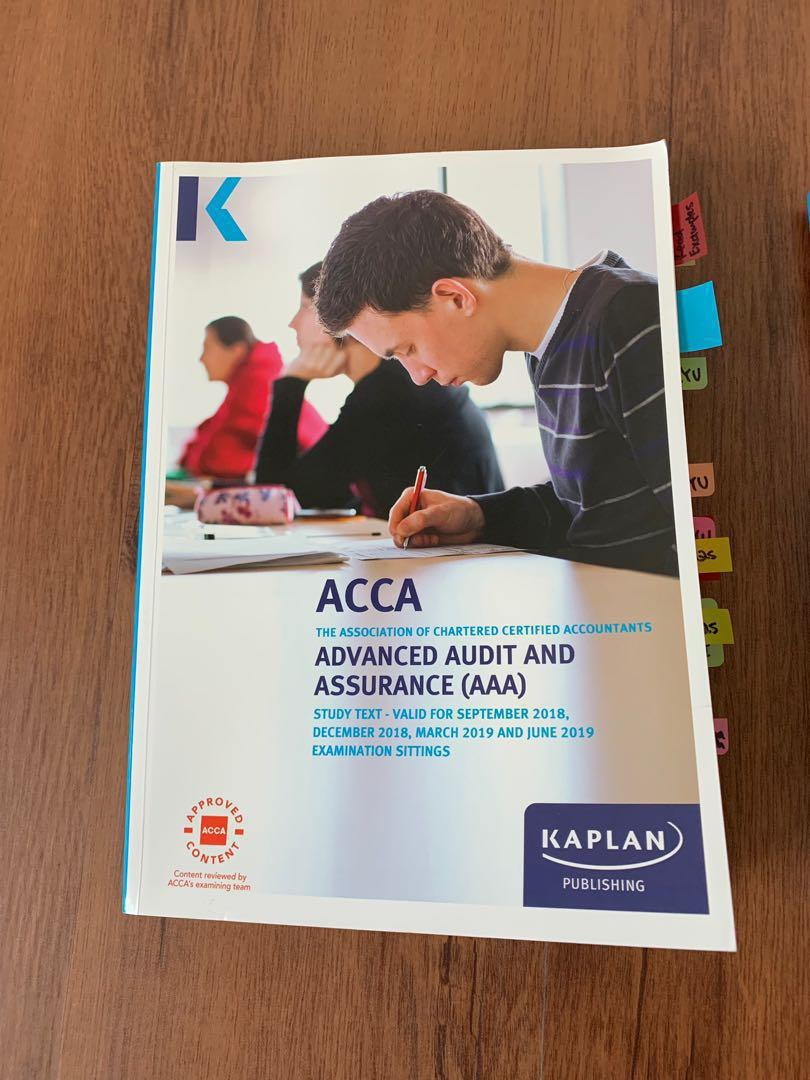 ACCA (AAA) 2019 latest, Books & Stationery, Textbooks