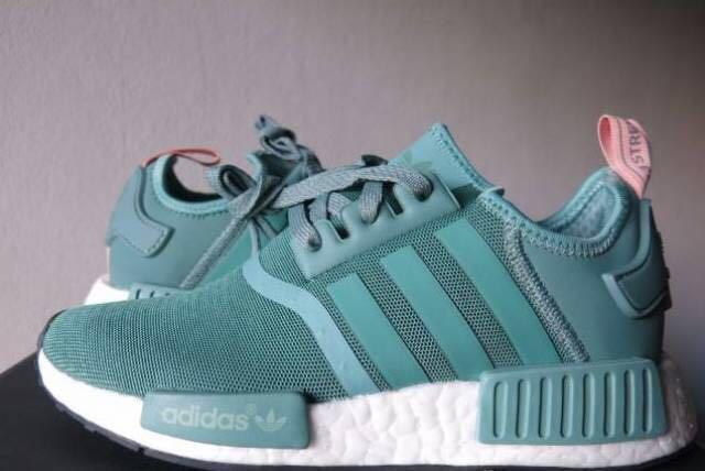 """Adidas NMD R1 """"TEAL"""" Womens With Box"""