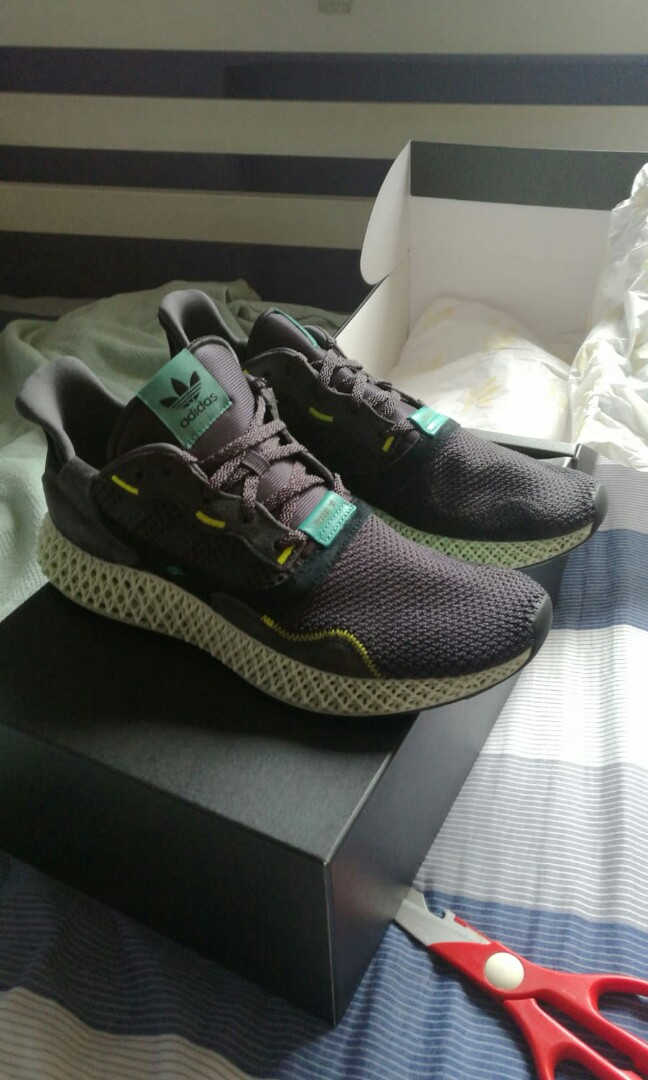 b2a8e02a Adidas ZX 4000 4D, Men's Fashion, Footwear, Sneakers on Carousell