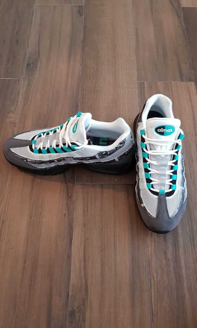09fcfad82b Air Max 95 Atmos We Love Nike (Clear Jade), Men's Fashion, Footwear ...