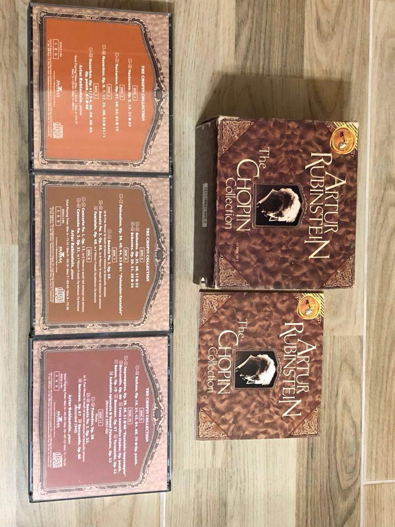 Arthur Rubinstein: The Chopin Collection, Music & Media, CDs