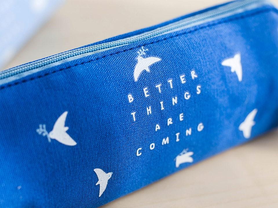 Better Things are Coming Canvas Pencil Case