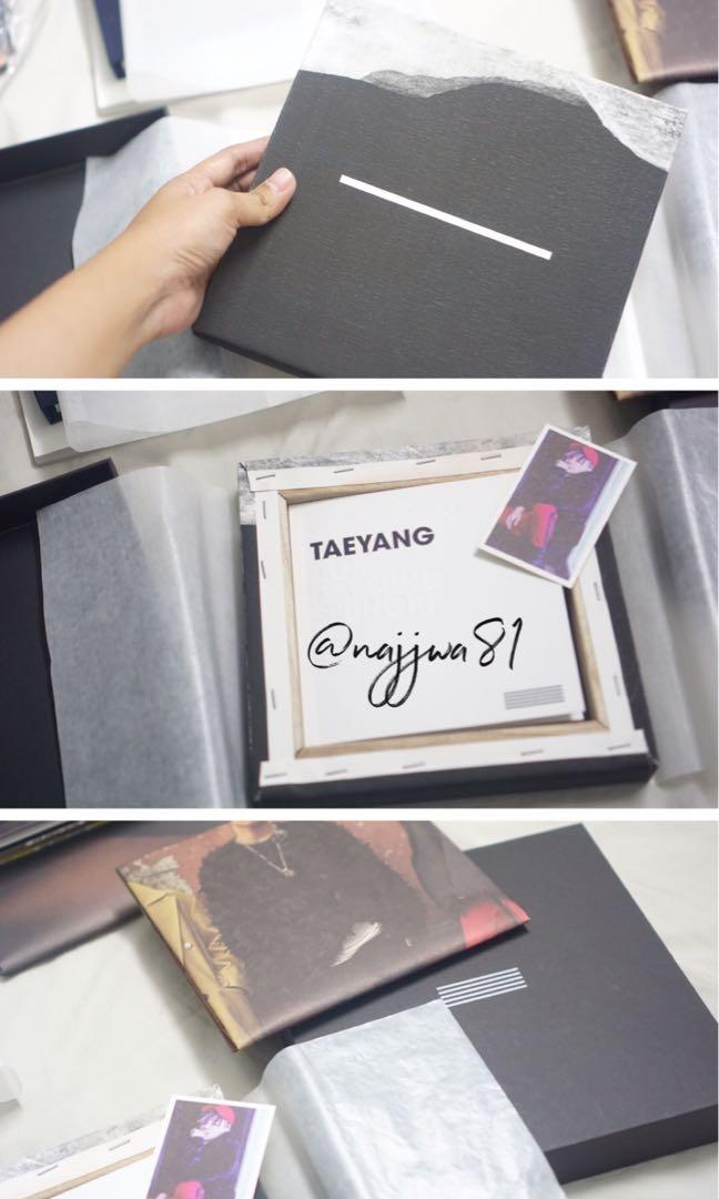 BIGBANG MADE FIRST PRESS ALBUM LIMITED EDITION (TAEYANG VER.)