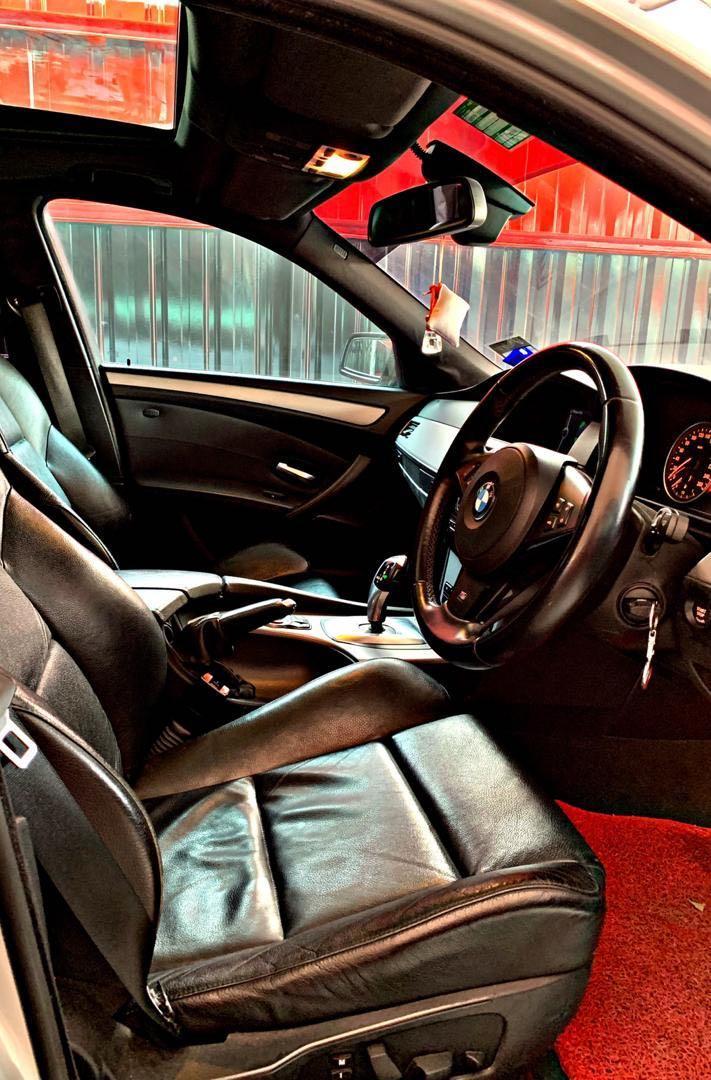 BMW E60 525i LCI 2.5CC M-SPORT HIGH SPEC SUNROOF LCI GEAR M-SPORT EDITION