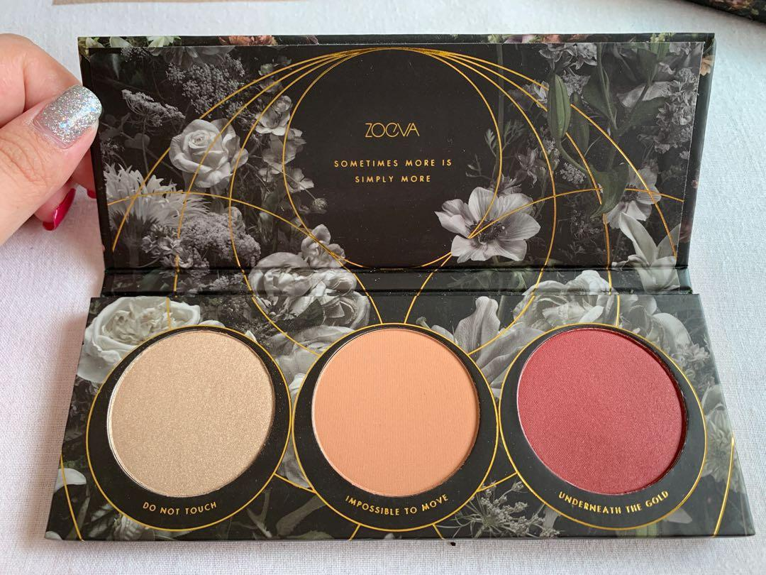 BN Zoeva Opulence Blush + Highlighter Palette