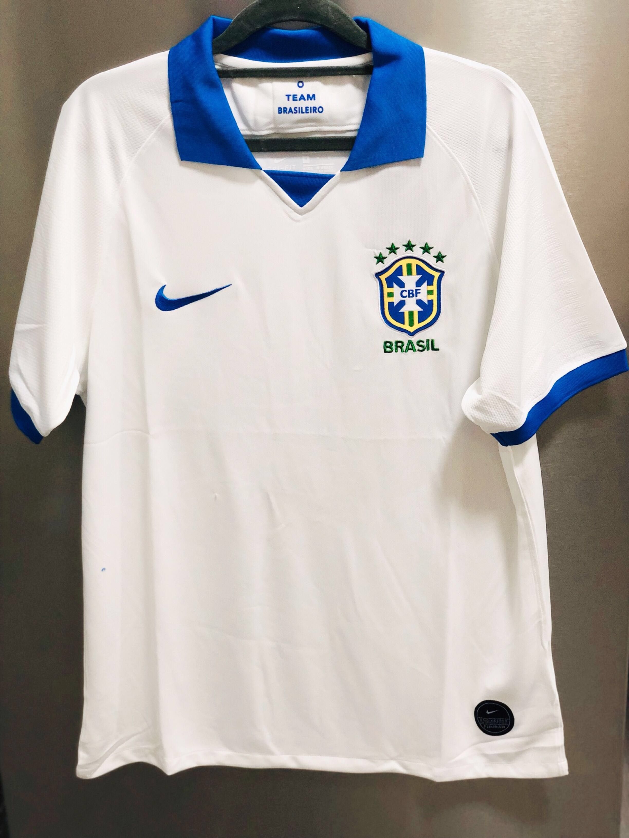 check out d3bce 2f63b Brazil 100th Anniversary Football Jersey