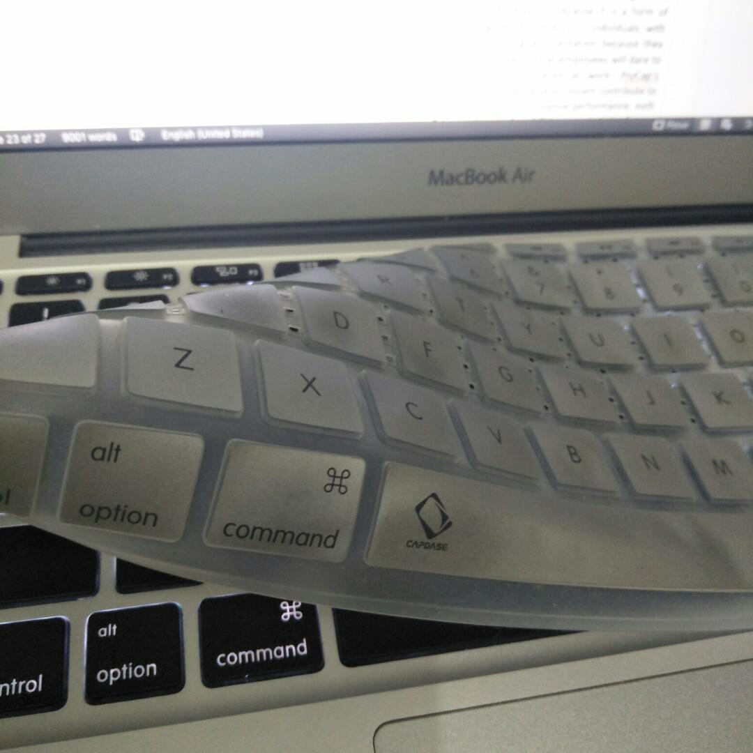 """Breathing Keyboard Protector Macbook Air 11"""""""