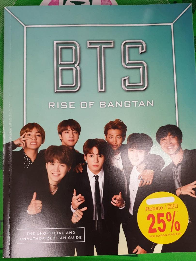 BTS Rise of Bangtan the Unofficial and Authorized Fan Guide (10 Slots)